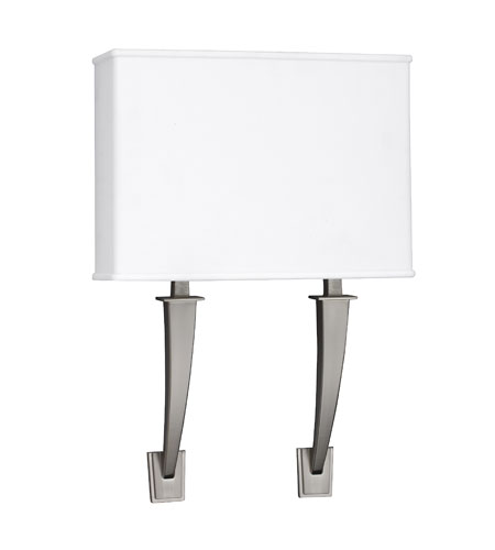 AFX Lighting Sheridan 2 Light Sconce in Satin Nickel SHS213SNMV-LA photo