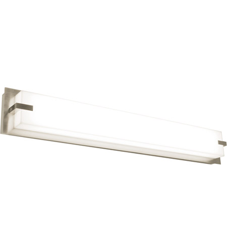 Afx Snv480540lajd2sn Sinclair 1 Light 50 Inch Satin Nickel Bath Vanity Wall Light