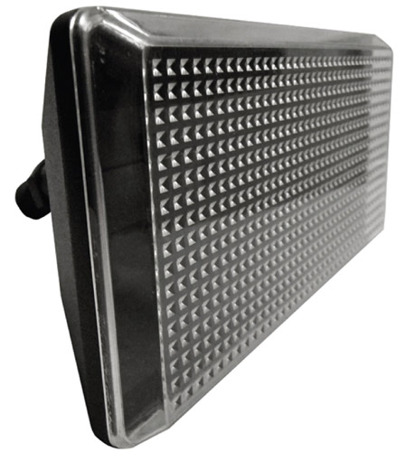 AFX Lighting TPDW Series 1 Light Outdoor LED Flood light in Black with Clear Lexan Lens TPDW110050LBK photo
