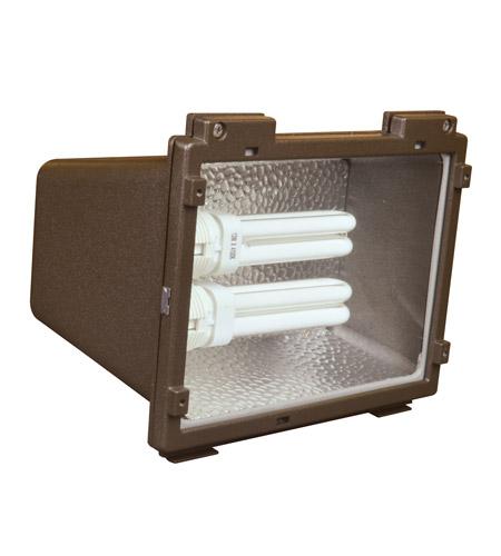 afx lighting tpdw series 2 light outdoor fluorescent flood. Black Bedroom Furniture Sets. Home Design Ideas