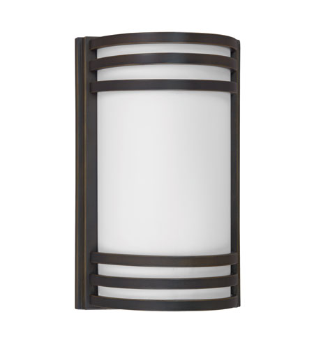 AFX Lighting Trillium 2 Light Outdoor Sconce in Oil-Rubbed Bronze TRW213RBEC photo