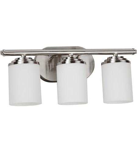 AFX VNVSNSCT Vernon Light Inch Satin Nickel Bath Vanity Wall - 18 inch bathroom light fixture
