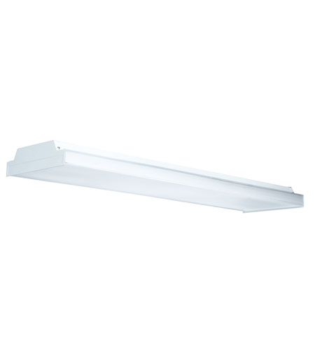 AFX Lighting WTA Series 4 Light Full Size Surface Wrap in White WTA432AMV photo