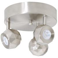 AFX ACAF0814L30D1SN Acadia LED 8 inch Satin Nickel Flush Mount Ceiling Light Aspect