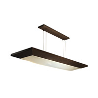 AFX Lighting Aeon 2 Light Suspended Linear in Oil-rubbed Bronze AEL232RBMV-CK