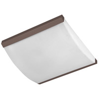 AFX Algiers 1 Light Flush Mount in Oakley Bronze ALF162400L30D1KBLA
