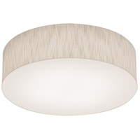 AFX ANF1214LAJUD-JT Anton 1 Light 12 inch Jute Flush Mount Ceiling Light