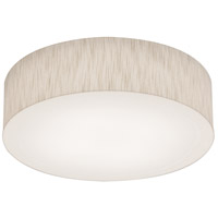 AFX ANF1524LAJUD-JT Anton 1 Light 15 inch Jute Flush Mount Ceiling Light