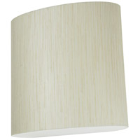 AFX ANS108700L30UD-JT Anton LED 9 inch Sconce Wall Light in Jute photo thumbnail