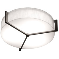 AFX APF1524LAJUDES-LW Apex 1 Light 17 inch Espresso Flush Mount Ceiling Light