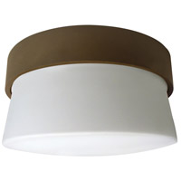 Aria 1 Light 7 inch Oil-Rubbed Bronze Outdoor Mini Flush Mount