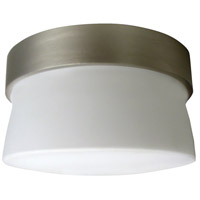 Aria LED 7 inch Satin Nickel Outdoor Mini Flush Mount