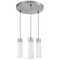 Aria 3 Light 15 inch Satin Nickel Pendant Ceiling Light
