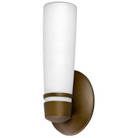 AFX Lighting Aria 1 Light Outdoor Sconce in Satin Nickel ARW113RBEC