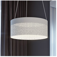 Ash LED 20 inch White Pendant Ceiling Light