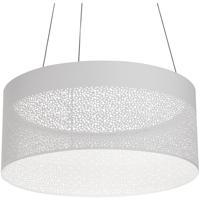 AFX ASHP2032L30D1WH Ash LED 20 inch White Pendant Ceiling Light