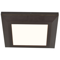 Atlas 1 Light 15 inch Oil-Rubbed Bronze Flush Mount Ceiling Light