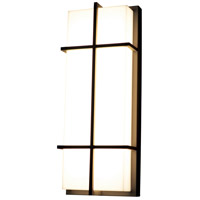 AFX AUW6122500L30MVBZ Avenue 1 Light 12 inch Textured Bronze Outdoor Wall Sconce