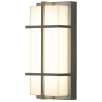 Avenue 1 Light 12 inch Textured Grey Outdoor Wall Sconce