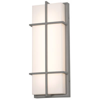 AFX AUW7183200L30MVTG Avenue LED 18 inch Textured Grey Outdoor Sconce