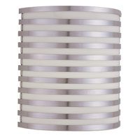 AFX Lighting Bilbao 2 Light Sconce in Satin Aluminum BBS213SAMV