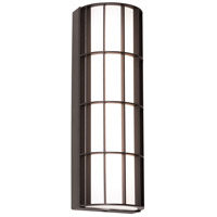 AFX BDWW041423LAJD2BZ Broadway LED 14 inch Textured Bronze Outdoor Sconce