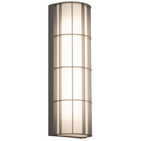 AFX BDWW041423LAJD2TG Broadway LED 14 inch Textured Grey Outdoor Sconce