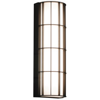 AFX BDWW072033LAJD2BZ Broadway LED 19 inch Textured Bronze Outdoor Sconce