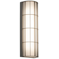AFX BDWW072033LAJD2TG Broadway LED 19 inch Textured Grey Outdoor Sconce