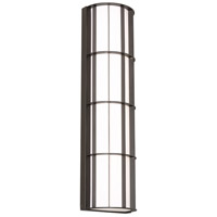 Broadway LED 30 inch Textured Bronze Outdoor Sconce