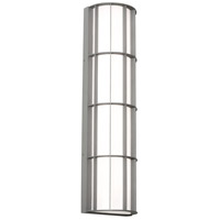 AFX BDWW083035LAJD2TG Broadway LED 30 inch Textured Grey Outdoor Sconce