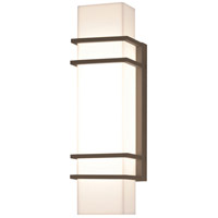 AFX BLW5161800L30MVBZ Blaine 1 Light 16 inch Textured Bronze Outdoor Wall Sconce