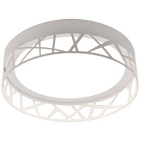Boon 1 Light 12 inch White Flush Mount Ceiling Light