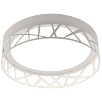 Boon 1 Light 16 inch White Flush Mount Ceiling Light