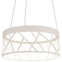 Boon LED 20 inch White Pendant Ceiling Light