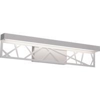 AFX BONV240520L30ENWH Boon LED 24 inch White Bath Vanity Wall Light