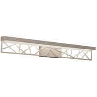 AFX BONV360530L30ENWH Boon LED 36 inch White Bath Vanity Wall Light