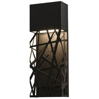AFX BONW071710L30D2BK Boon LED 3 inch Black Outdoor Sconce
