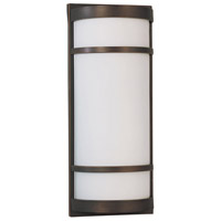 AFX Brio 2 Light Outdoor Wall Sconce in Oil Rubbed Bronze BRW218RBMV