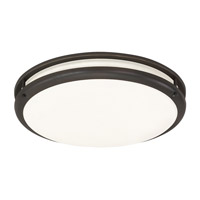 AFX Cashel 1 Light Flush Mount in Oil Rubbed Bronze CCF192400L30D1RB