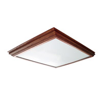 AFX Lighting Crown Molding 2 Light Decorative Flush Linear in Cherry CCM2U3R8