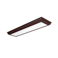 AFX Lighting Crown Molding 4 Light Decorative Flush Linear in Cherry CCM432R8