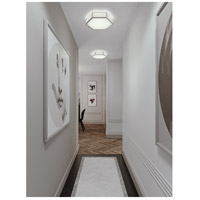 AFX CLAF1418LAJD1SNGY Clara LED 14 inch Satin Nickel Flush Mount Ceiling Light alternative photo thumbnail