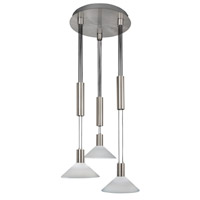 AFX CNP Series 3 Light LED Pendant in Satin Nickel CNP340027LSNCWS