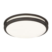 AFX Lighting CS Series 1 Light Flush Mount in Oil-rubbed Bronze CSC22WARBT photo thumbnail