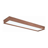 AFX Lighting Traditional Wood Molding 2 Light Decorative Flush Linear in Oak CTK232R8