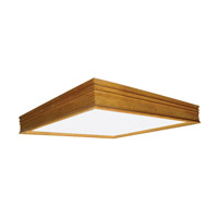 AFX Lighting Traditional Wood Molding 2 Light Decorative Flush Linear in Oak CTK2U3R8