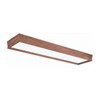 AFX Lighting Traditional Wood Molding 4 Light Decorative Flush Linear in Oak CTK432R8