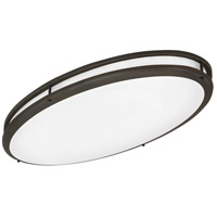Covina 2 Light 17 inch Oil-Rubbed Bronze Flush Mount Ceiling Light