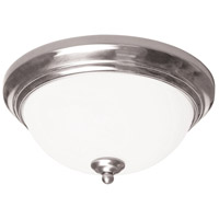 AFX Canterbury 2 Light Flush Mount in Satin Nickel CYF15218GU27SN